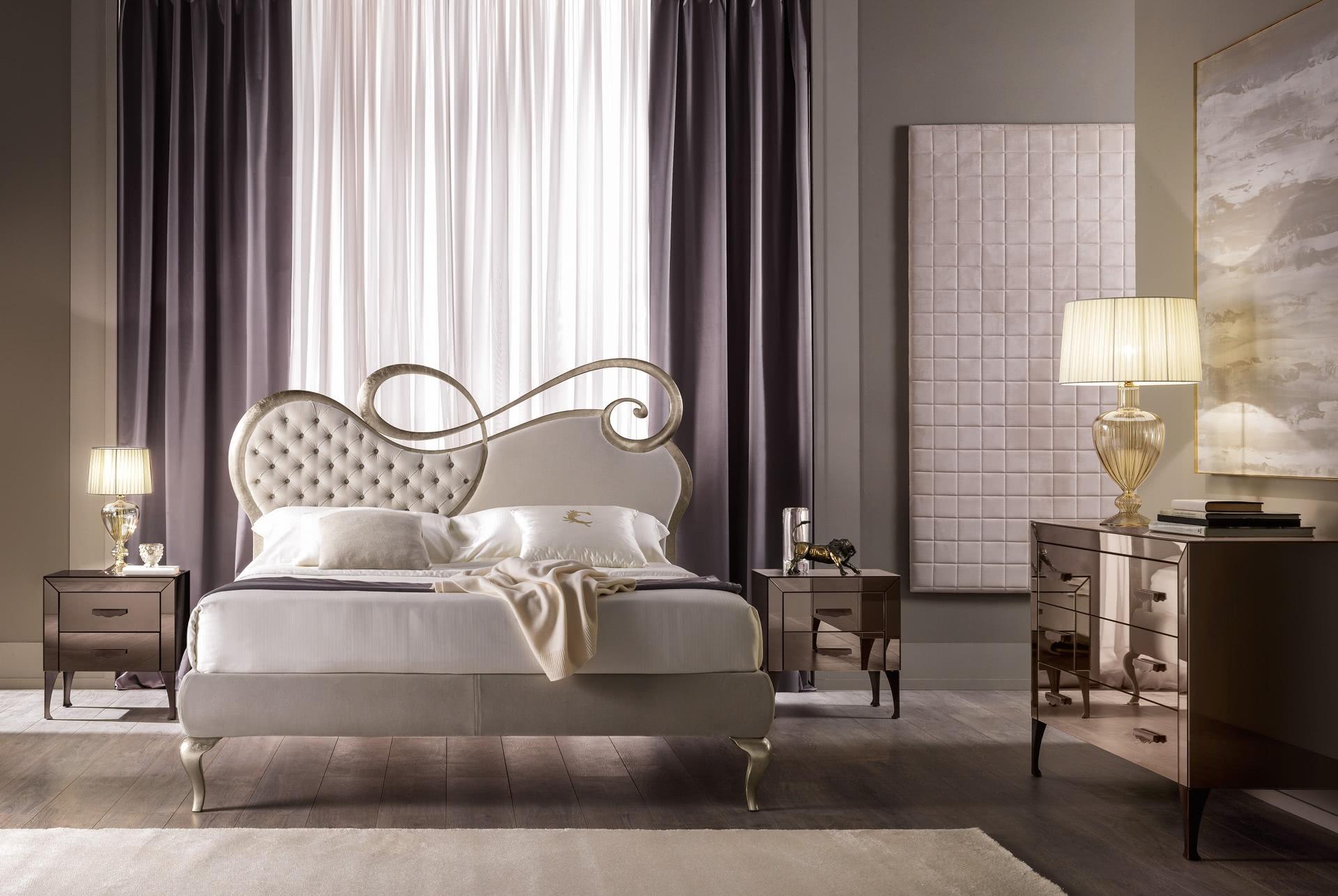 Chopin Eisen Bett mit Polster von Cantori - Banater Eisen