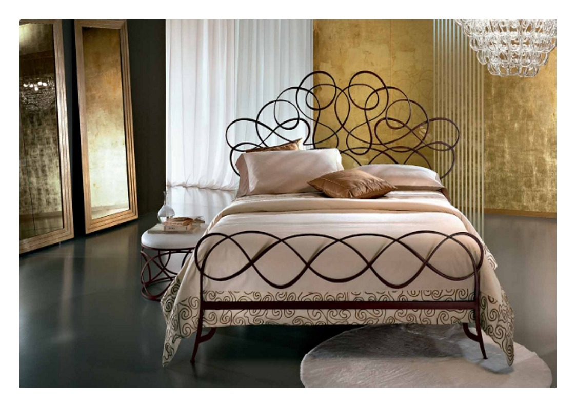 Schmiedeeisen Bett Aus Italienische Kunstwerk Nuvola Banater Eisen
